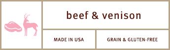 Sojos Simply Puppy Dog Treats Beef & Venison