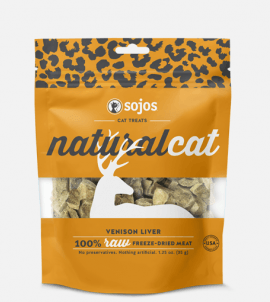 Sojos Natural Cat Venison Liver Treats
