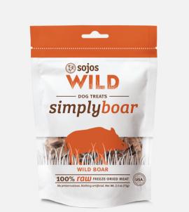 Sojos Simply Wild  Wild Boar Dog Treats