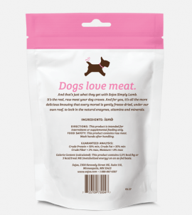 Sojos Simply Lamb Dog Treats