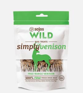 Sojos Simply Wild  Venison Dog Treats