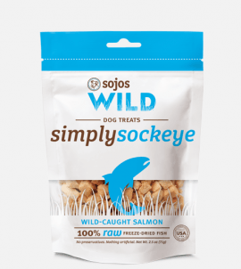 Sojos Simply Wild  Salmon Dog Treats