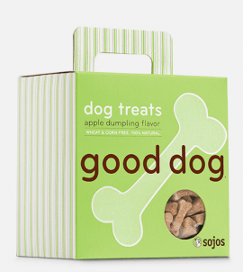 Sojos Good Dog Treats Apple Dumpling