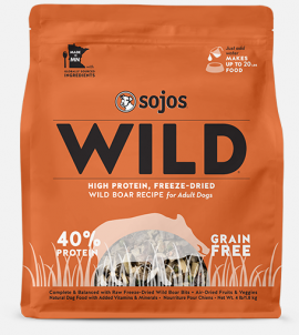 Sojos Wild Dog Food Wild Boar Recipe