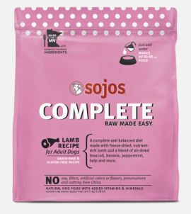 Sojos Complete Dog Food Lamb Recipe
