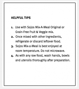 Mix-a-Meal Freeze-Dried Lamb