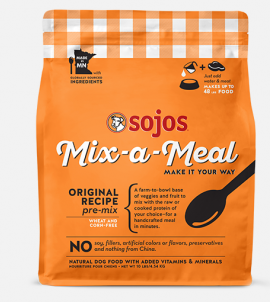 Sojos Mix-a-Meal Original Recipe Pre-Mix Dog Food