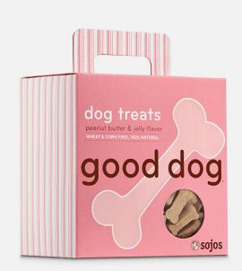 Sojos Good Dog Treats Peanut Butter & Jelly
