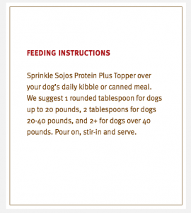 Sojos Toppers Lamb Plus