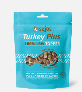 Sojos Toppers Turkey Plus