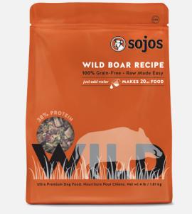 Sojos Wild Dog Food Wild Boar Recipe